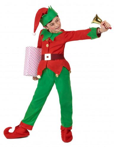 Costume da elfo natalizio per bambino-2