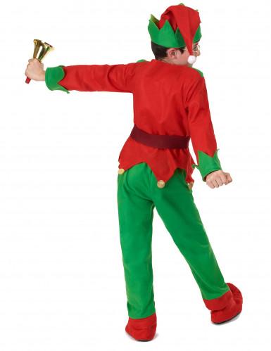 Costume da elfo natalizio per bambino-3