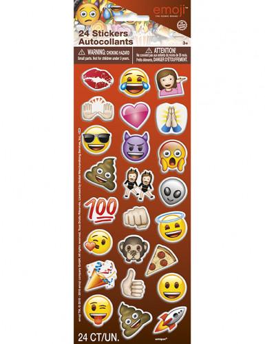 24 adesivi Emoji™