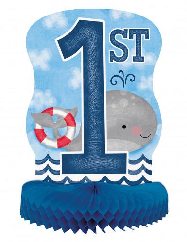 Centrotavola 1° compleanno marinaio