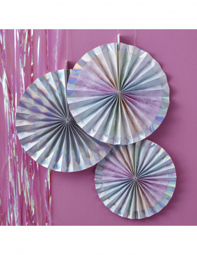 3 rosoni iridescenti in cartone-1
