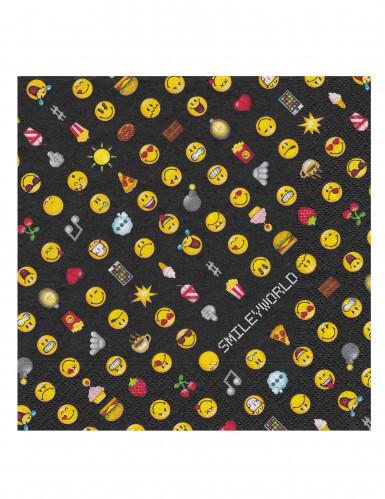 20 tovaglioli di carta Smiley emoticons™