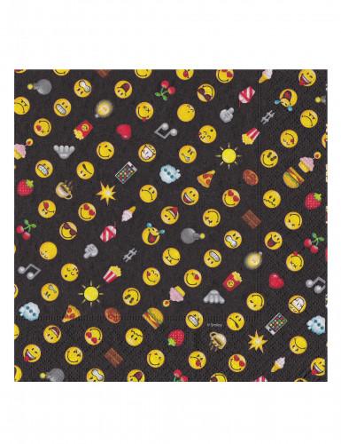 20 tovaglioli di carta Smiley emoticons™-1