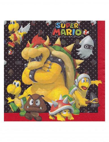 20 Tovaglioli di carta Super Mario™