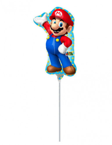 Palloncino in alluminio Super Mario™-1