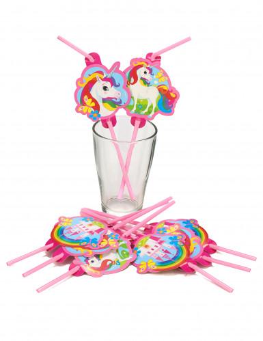 8 cannucce unicorno arcobaleno-1