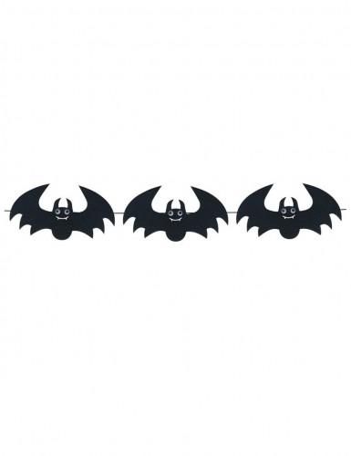 Ghirlanda di pipistrelli in feltro