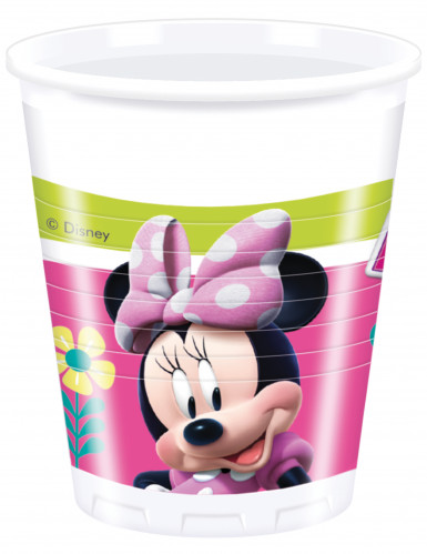 8 bicchieri di plastica Minnie Happy™