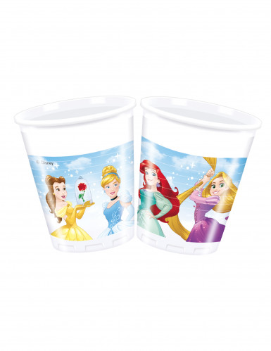 8 bicchieri di plastica principesse Disney dreaming™