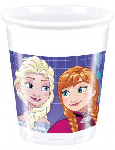 8 bicchieri di plastica viola Frozen™