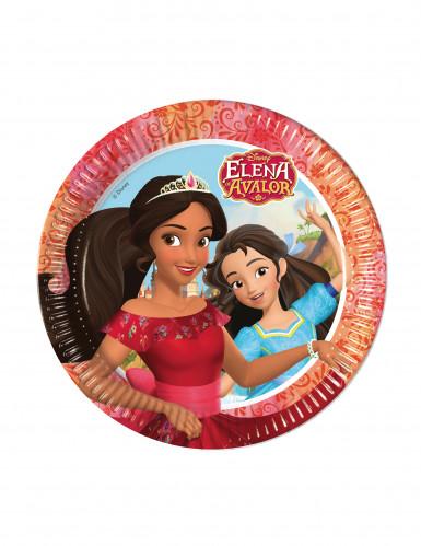8 piatti di carta Elena di Avalor™ 23 cm