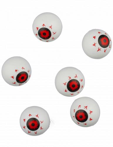 Decorazioni 6 occhi globulosi