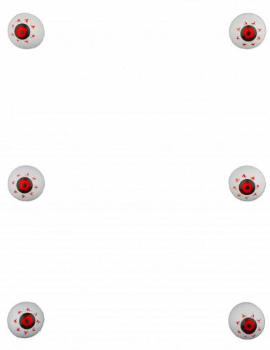 Decorazioni 6 occhi globulosi-1