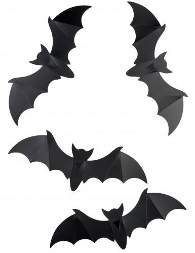 12 pipistrelli decorativi per parete