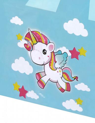 Tovaglia celeste unicorno-1