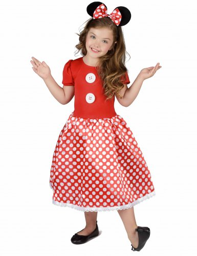 Costume topolina a pois bambina
