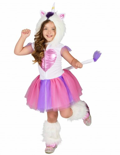 Costume da principessa unicorno bambina-1