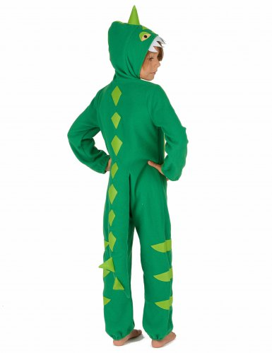 Costume da dinosauro verde bambino-2