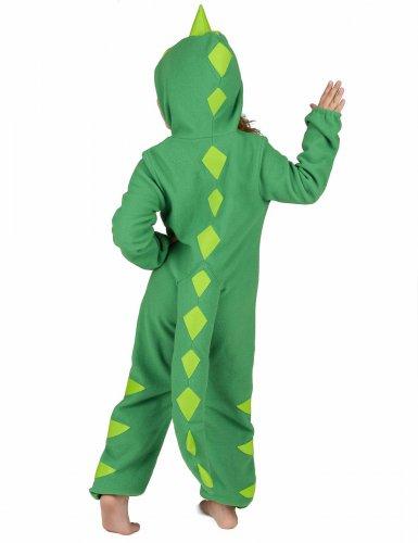 Costume da dinosauro verde bambino-4