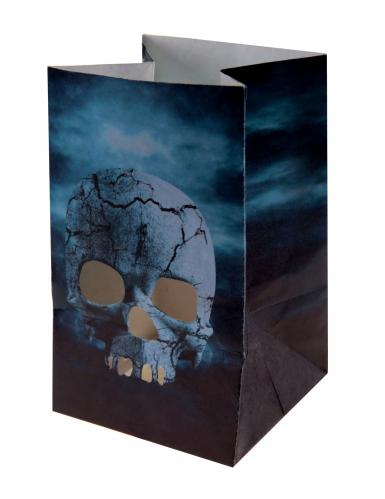 6 lanterne di carta Notte dell'orrore Halloween