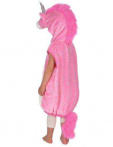 Costume unicorno rosa per bambina-1