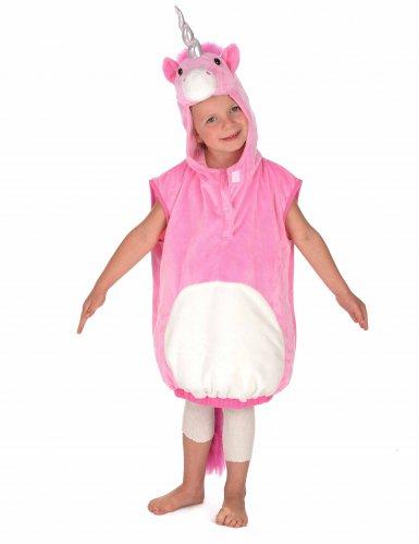 Costume unicorno rosa per bambina-2