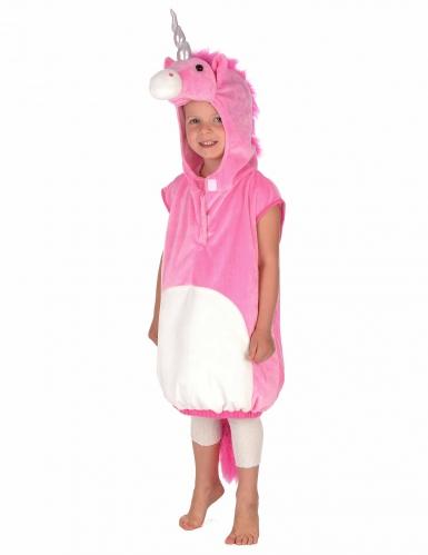 Costume unicorno rosa per bambina-5