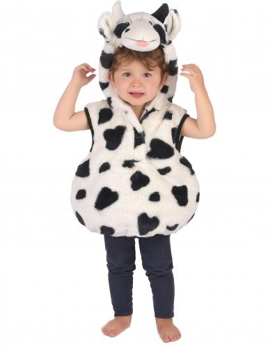 Costume con tunica mucca bambino