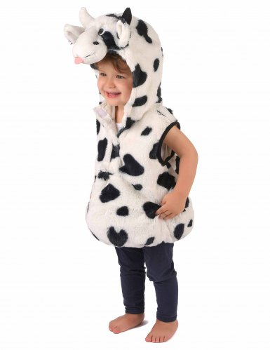 Costume con tunica mucca bambino-1