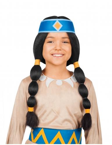 Parrucca arcobaleno Yakari™ bambina