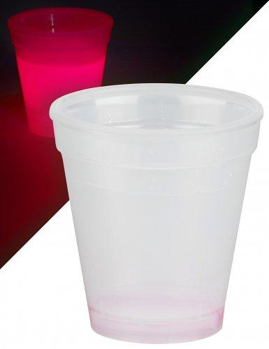 Bicchiere luminoso rosso