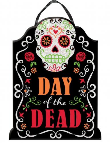 Decorazione Dia de los muertos con brillantini