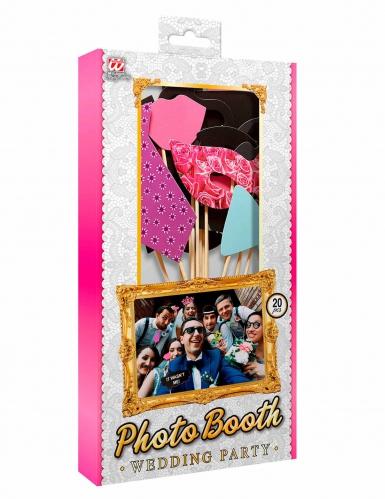Kit photobooth 20 accessori matrimonio-1
