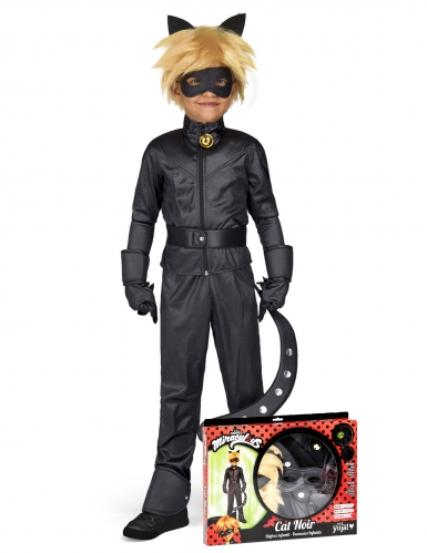 Cofanetto costume da Chat Noir Miraculous™ bambino