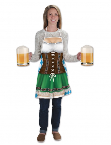 Grembiule lungo Oktoberfest per donna
