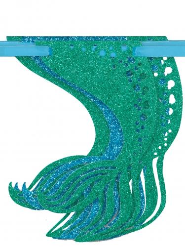 Ghirlanda con brillantini sirena-1