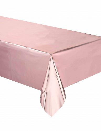 Tovaglia in plastica oro rosa