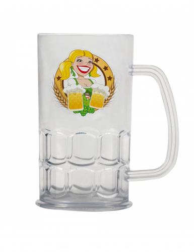 Boccale di birra trasparente Oktoberfest