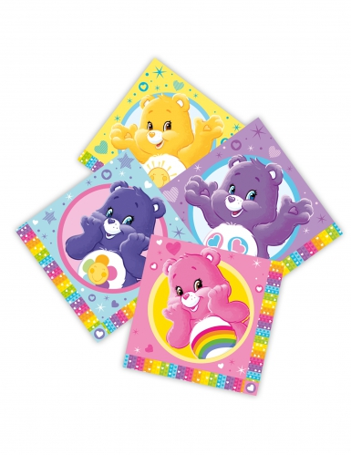 16 tovaglioli di carta Gli orsetti del cuore™