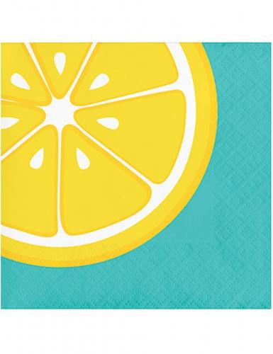 16 tovagliolini di carta limone