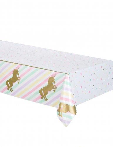 Tovaglia in plastica Unicorno Pastello 137 x 259 cm