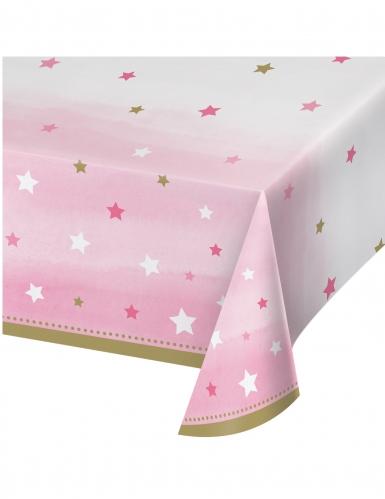 Tovaglia in plastica Little Star rosa