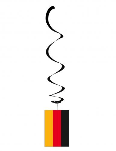 6 sospensioni a spirale bandiera Germania