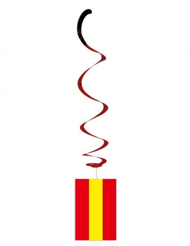 6 sospensioni a spirale bandiera Spagna