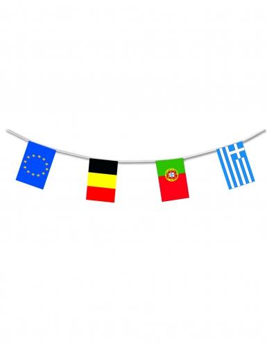 Ghirlanda bandierine in plastica Europa