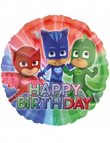 Palloncino di alluminio Super Pigiamini™ Happy Birthday