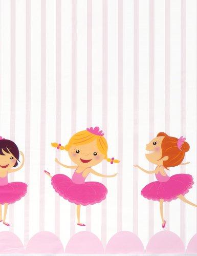 Tovaglia in plastica piccole ballerine-1