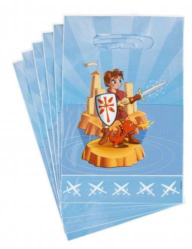 6 sacchetti regalo piccolo cavaliere
