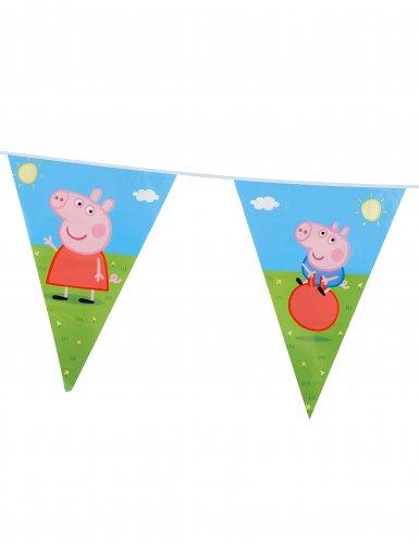 Ghirlanda di bandierine Peppa Pig™-1