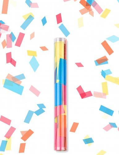 Sparacoriandoli con rettangoli multicolor